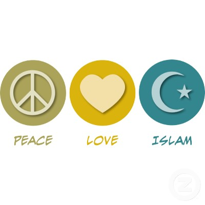 peace love islam