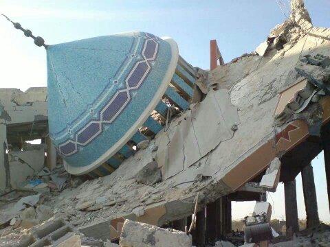 masjid hancur - angola