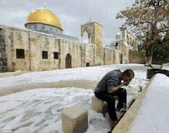 Salju di Jazirah arab