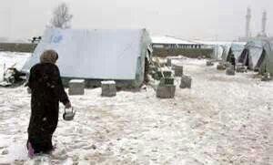 salju di syria