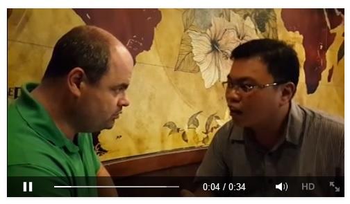 Telah bersyahadat Mualaf Andrew Weimar Michael di Jakarta