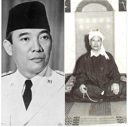 Inilah Ir Soekarno dan Seorang Sufi yang juga Profesor Fisika Kodliron Yahya  Msc., pernah dipertemukan dalam sebuah dialog di Istana Negara.